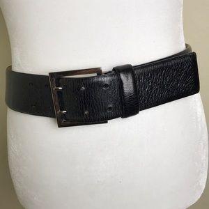 WCM New York Italian Leather Belt Sz S